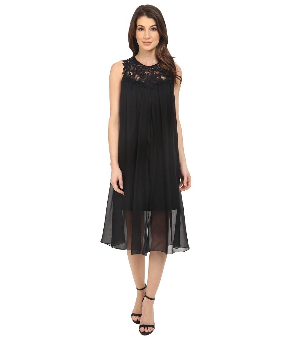 Shoshanna Gemma Dress (Jet) Women