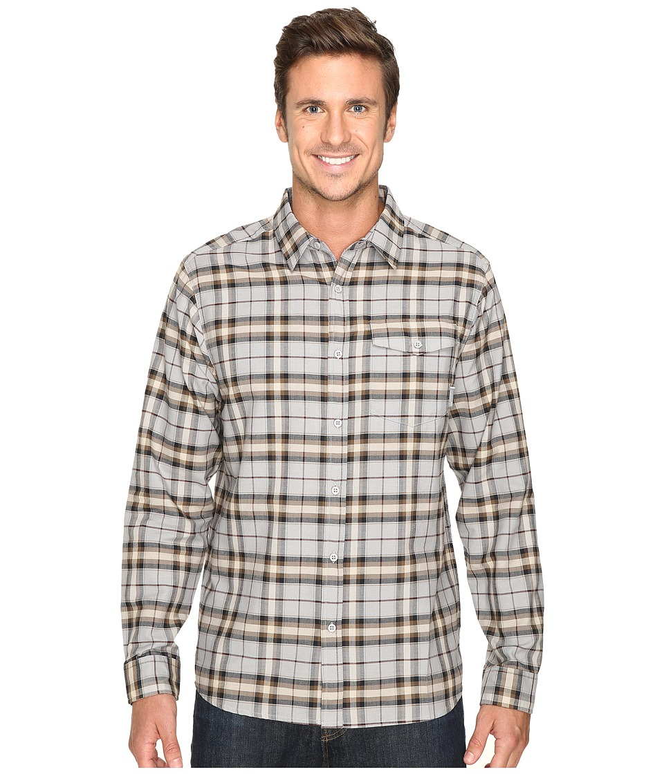 Mountain Hardwear - Drummond Long Sleeve Shirt (Steam) Men's Long Sleeve Button Up