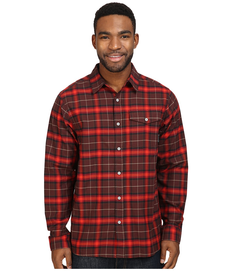 Mountain Hardwear - Drummond Long Sleeve Shirt (Redwood) Men's Long Sleeve Button Up