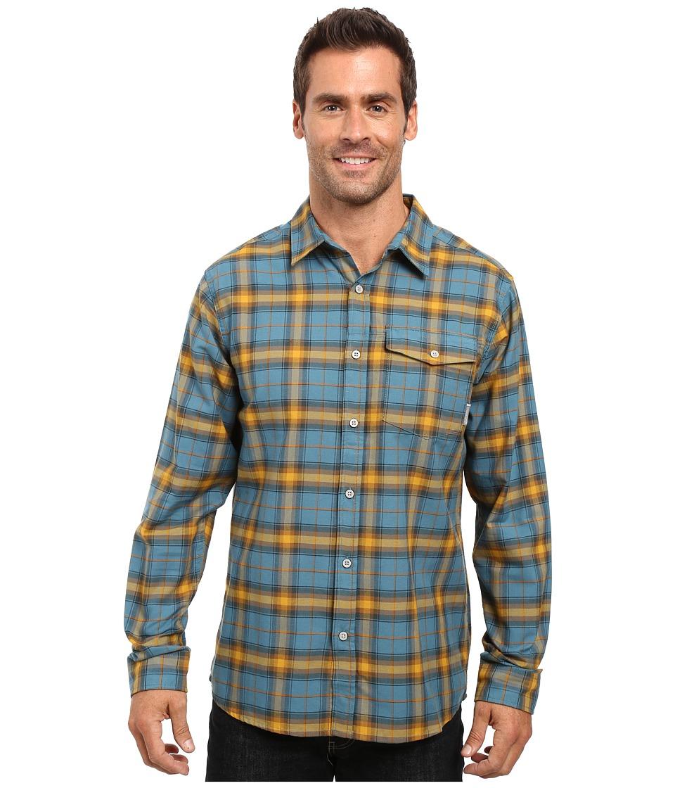 Mountain Hardwear - Drummond Long Sleeve Shirt (Cloudburst) Men's Long Sleeve Button Up