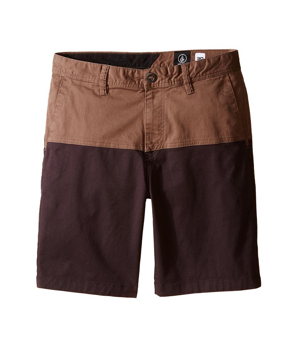 Volcom Kids - Baden Shorts (Big Kids) (Mushroom) Boy's Swimwear