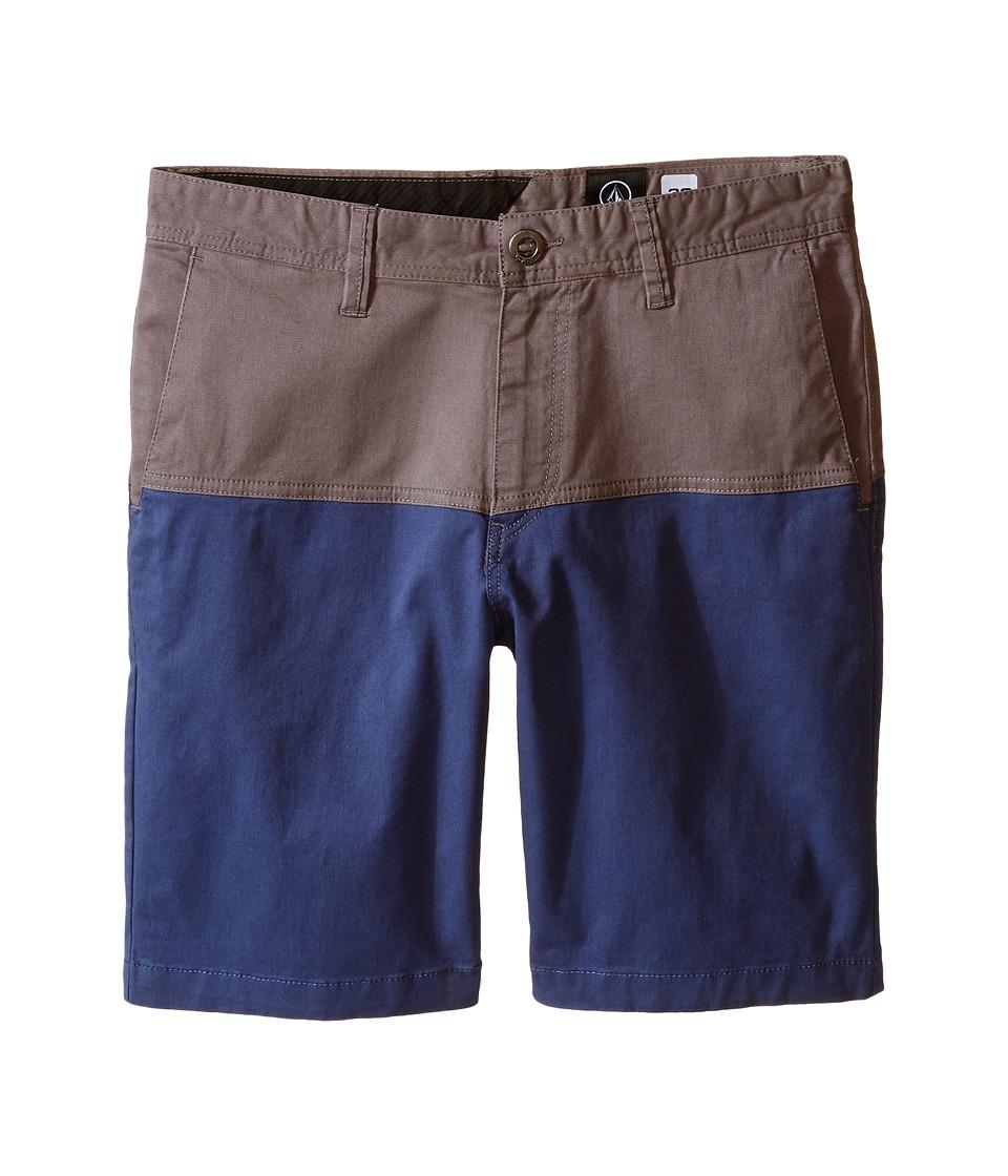 Volcom Kids - Baden Shorts (Big Kids) (Pewter) Boy's Swimwear