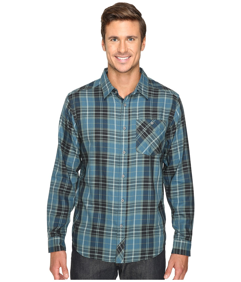 Mountain Hardwear - Franklin Long Sleeve Shirt (Thunderhead Grey) Men's Long Sleeve Button Up