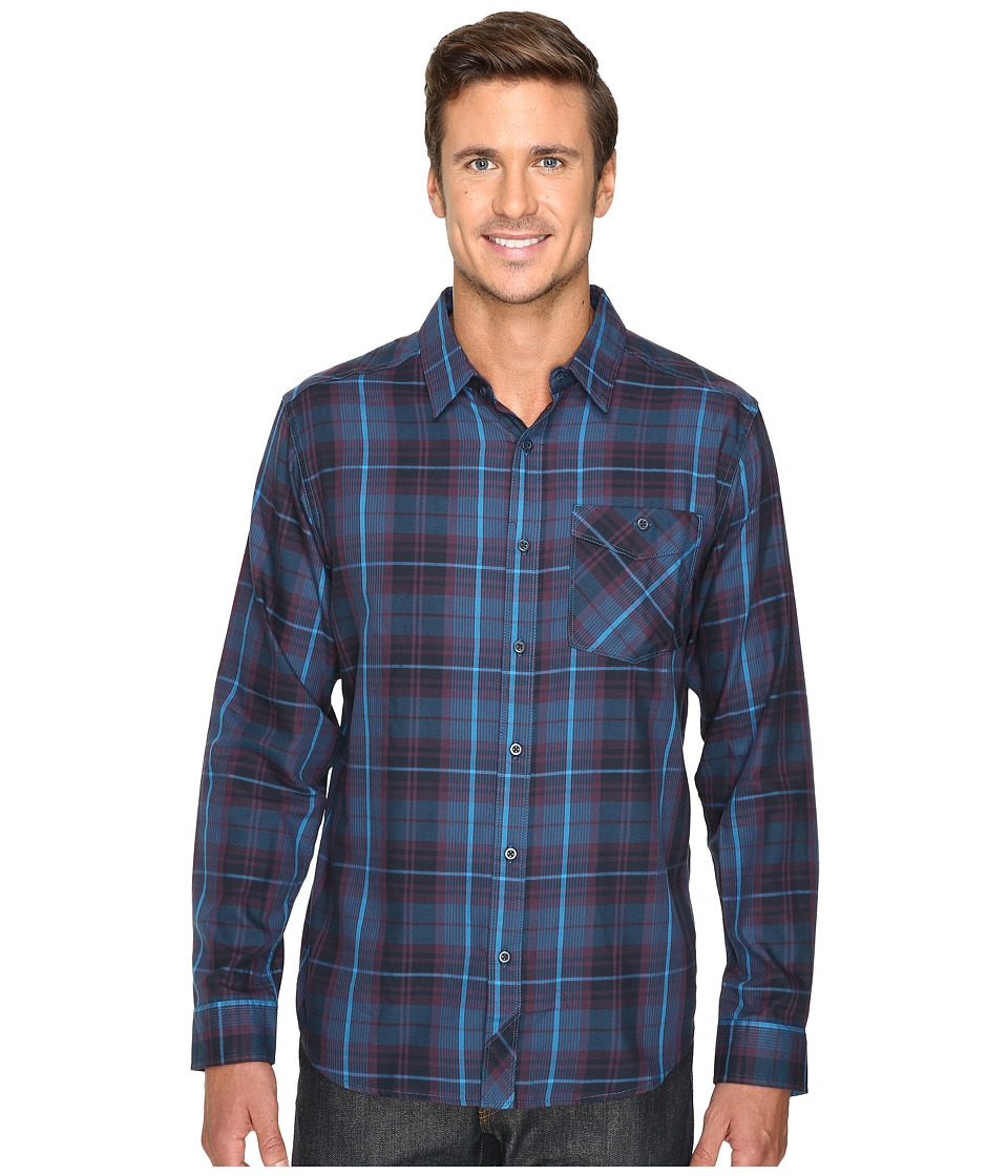 Mountain Hardwear - Franklin Long Sleeve Shirt (Eggplant) Men's Long Sleeve Button Up