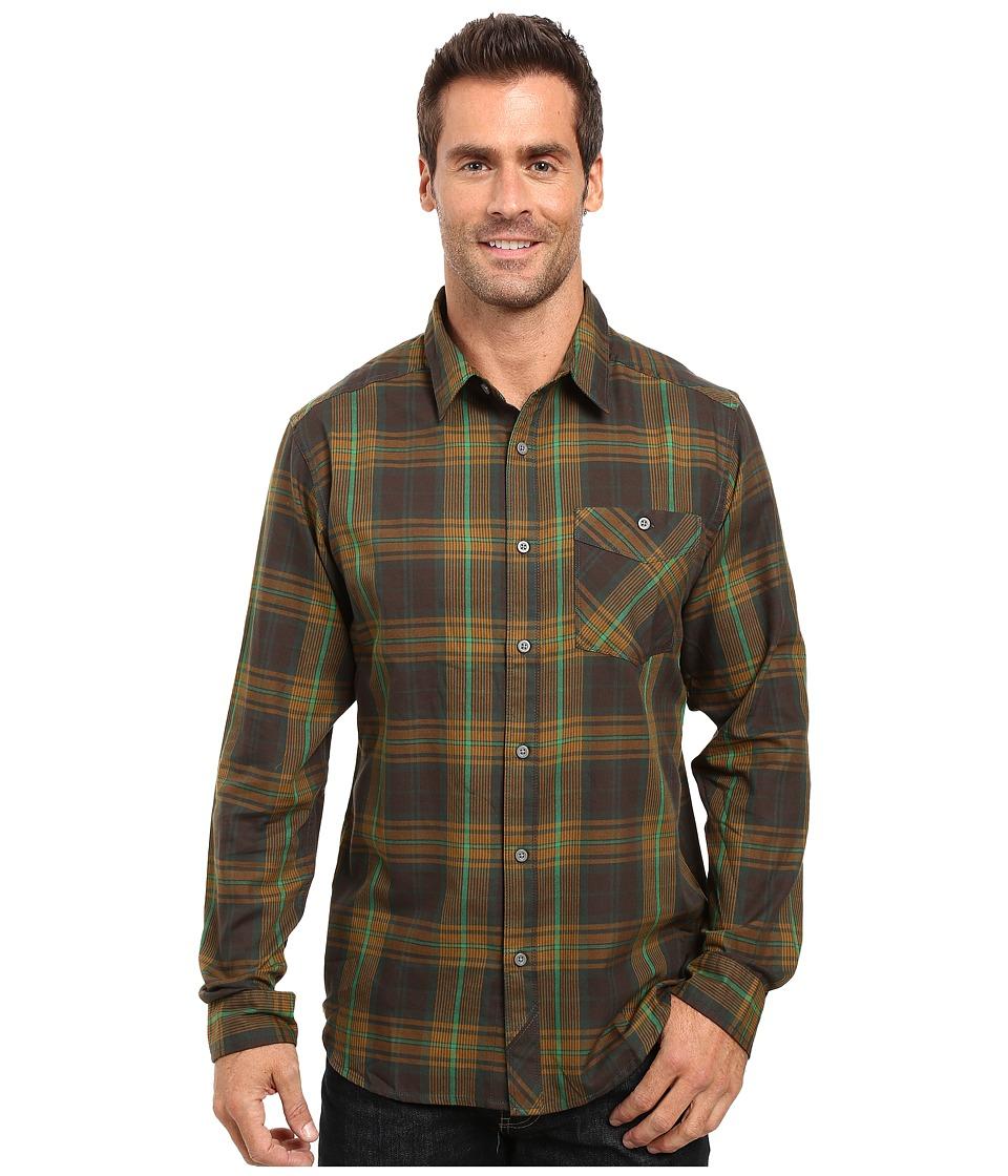 Mountain Hardwear - Franklin Long Sleeve Shirt (Forest) Men's Long Sleeve Button Up
