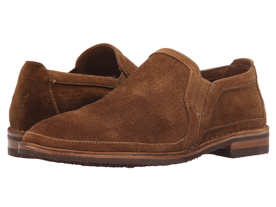 Trask Blaine Perf (Whiskey Kudo Suede) Men
