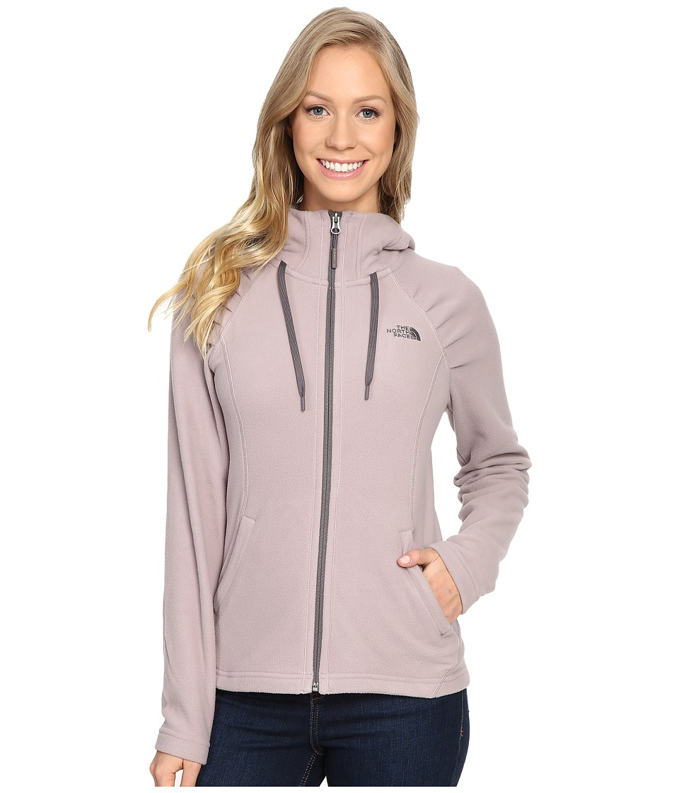 The North Face - Mezzaluna Hoodie (Quail Grey) Women's Sweatshirt
