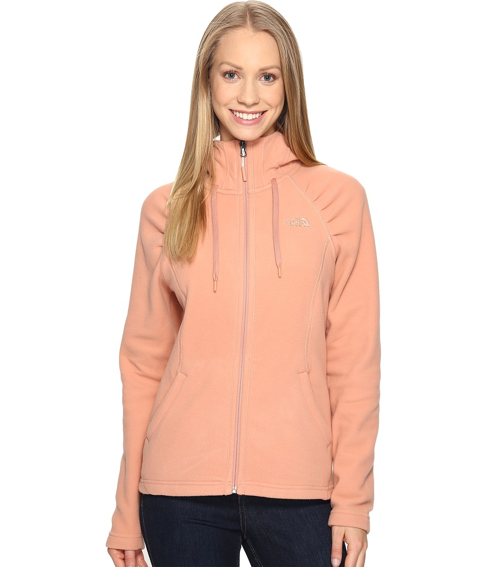 The North Face - Mezzaluna Hoodie (Rose Dawn (Prior Season)) Women's Sweatshirt