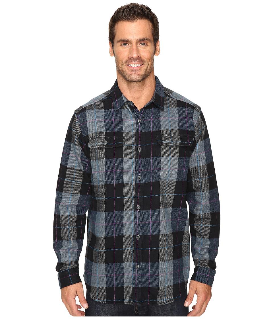 Mountain Hardwear - Walcott Long Sleeve Shirt (Black) Men's Long Sleeve Button Up