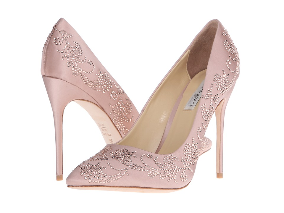 Benjamin Adams London - Saskia (Blush Duchesse Silk) Women's Shoes