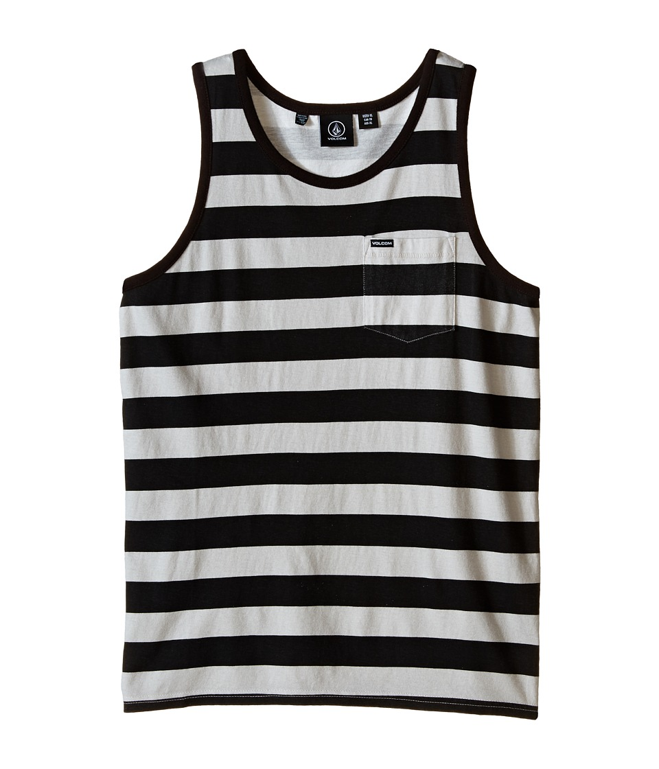 Volcom Kids - Blister Tank Top (Big Kids) (Black) Boy