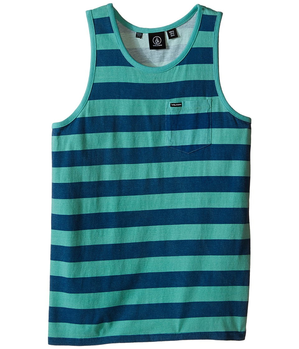 Volcom Kids - Blister Tank Top (Big Kids) (Island Green) Boy's Sleeveless