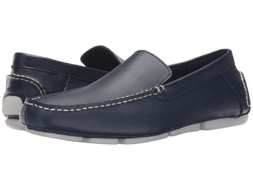 Calvin Klein Miguel (Dark Navy Diamond Perf) Men