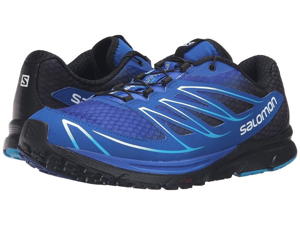 Salomon - Sense Mantra 3 (Blue Yonder/Black/Scuba Blue) Men's Shoes