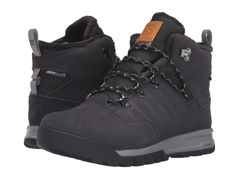 Salomon Utility TS CS WP (Asphalt/Black/Pewter) Men