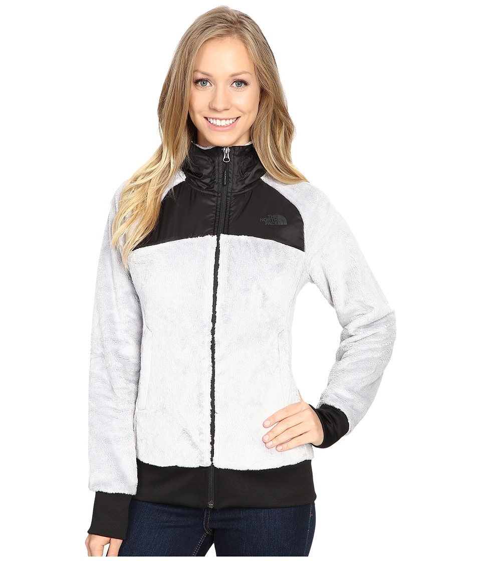 The North Face - Oso Hoodie (Lunar Ice Grey/TNF Black) Women's Jacket