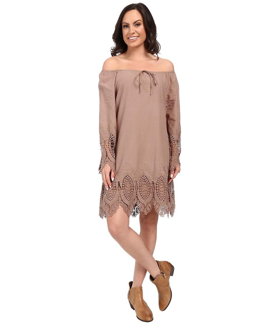 Union of Angels - Justine Dress (Taupe) Women's Dress