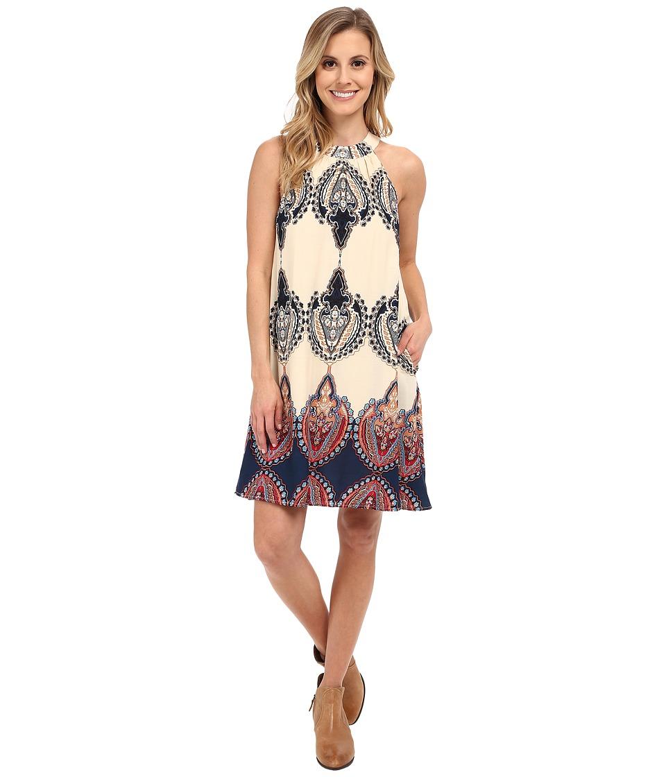 Union of Angels - Sibley Dress (Navy/Ivory) Women's Dress