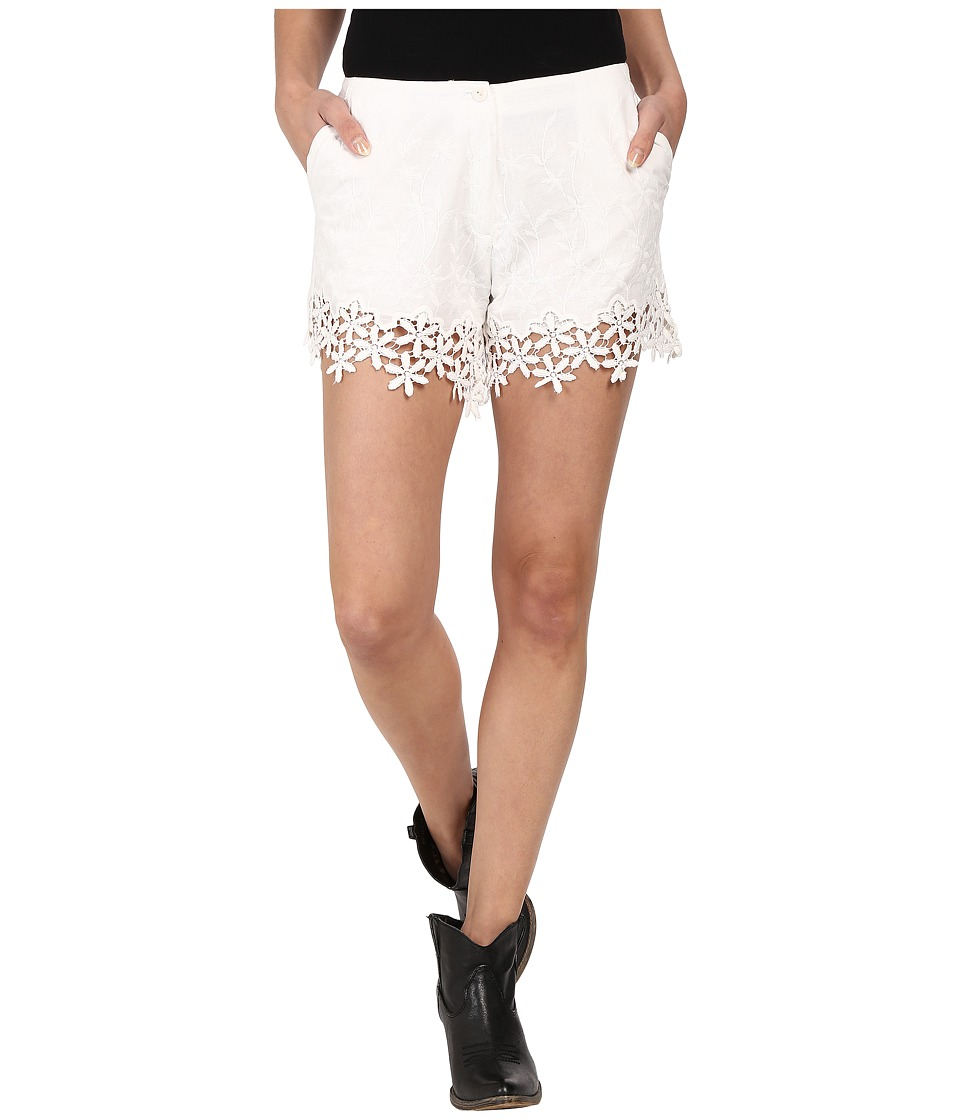Union of Angels - St. Croix Shorts (White) Women's Shorts