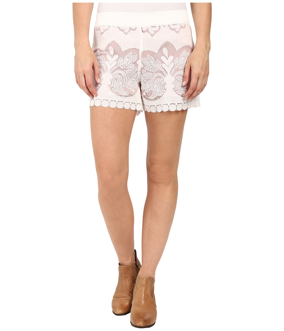 Union of Angels - Laurel Shorts (White) Women's Shorts