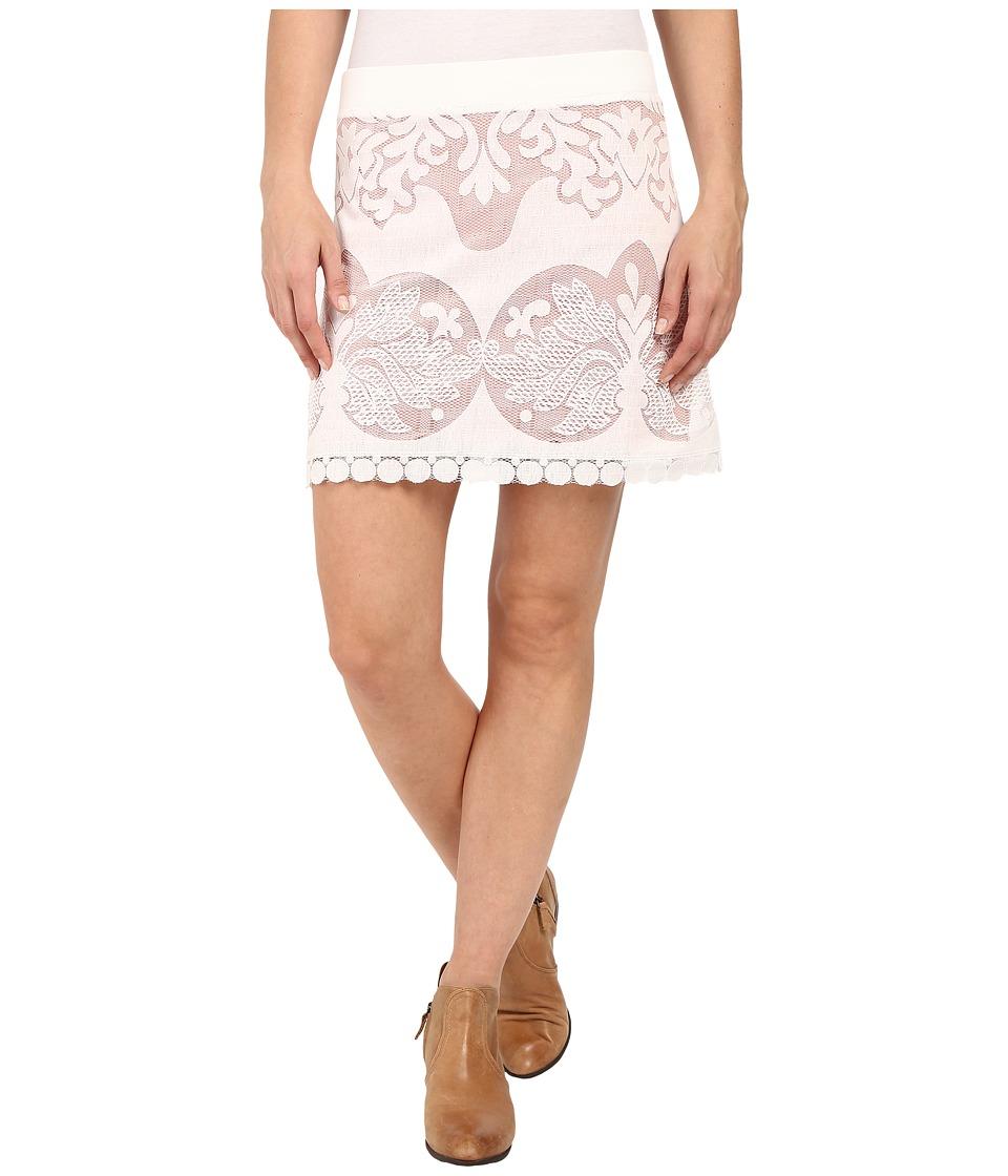 Union of Angels - Lilac Skirt (White) Women's Skirt