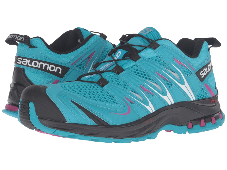 Salomon - XA Pro 3D (Blue Jay/Black/Deep Dalhia) Women's Running Shoes