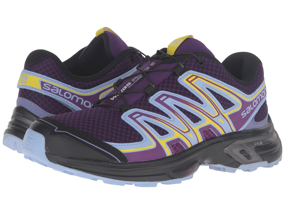 Salomon - Wings Flyte 2 (Cosmic Purple/Pale Lilac/Black) Women's Shoes