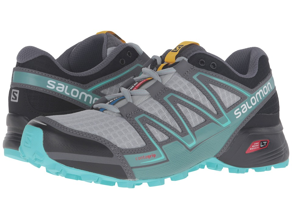 Salomon - Speedcross Vario (Light Onix/Black/Bubble Blue) Women's Shoes