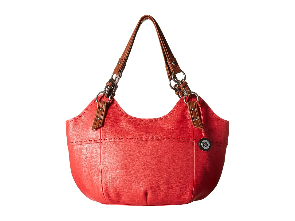 The Sak - Indio Satchel (Bonfire) Shoulder Handbags