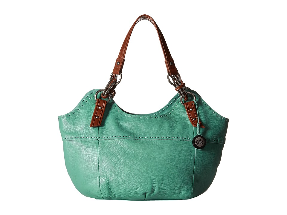 The Sak - Indio Satchel (Seascape) Shoulder Handbags