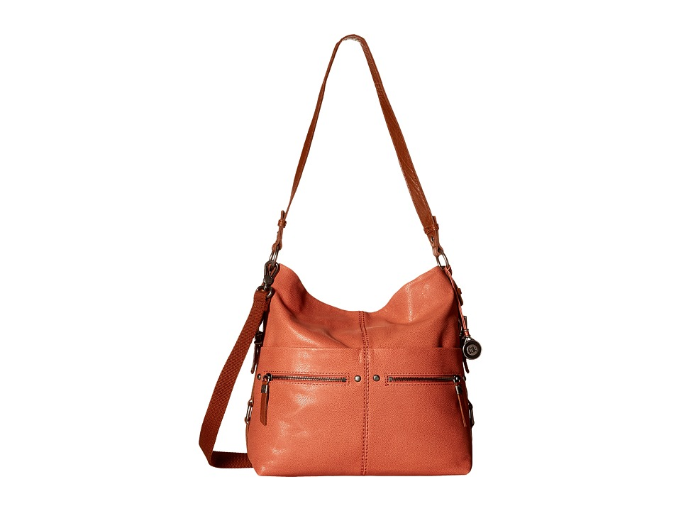 The Sak - Sanibel Bucket (Guava) Satchel Handbags