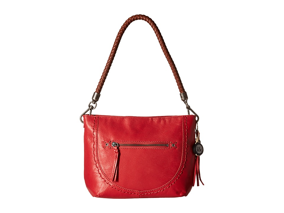 The Sak - Indio Leather Demi (Bonfire) Shoulder Handbags