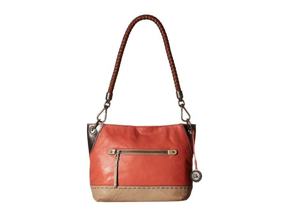The Sak - Indio Leather Demi (Gauva Block) Shoulder Handbags