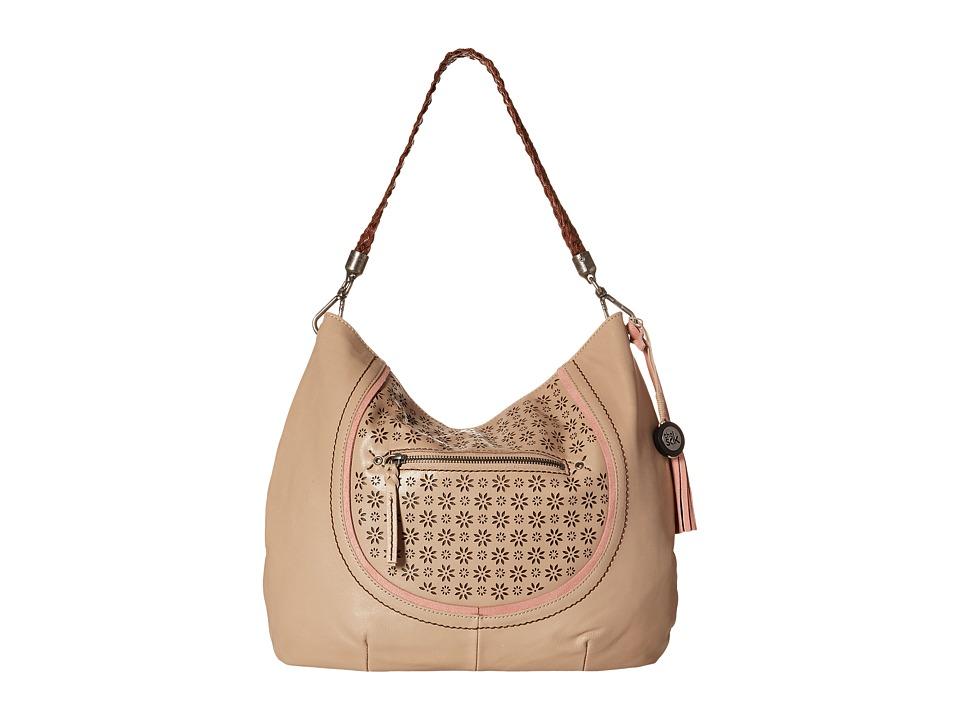 The Sak - Indio Hobo (Taupe Floral Perf) Hobo Handbags