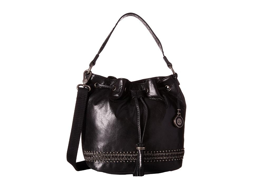 The Sak - Ukiah Small Drawstring (Black Chain) Drawstring Handbags