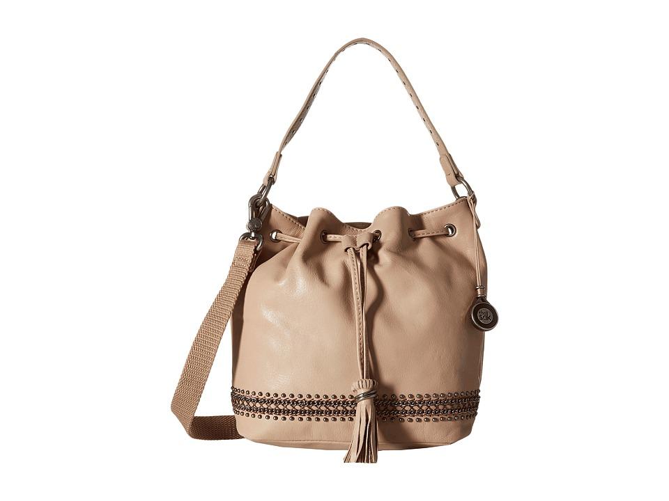 The Sak - Ukiah Small Drawstring (Taupe Chain) Drawstring Handbags