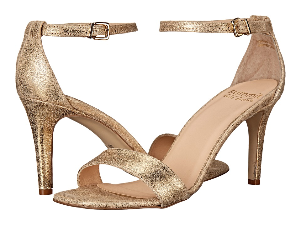Summit by White Mountain - Marisela (Gold Metallic Leather) High Heels