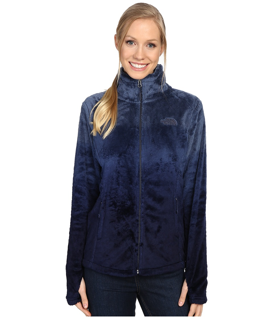 The North Face - Novelty Osito Jacket (Cosmic Blue Ombre Print) Women's Jacket