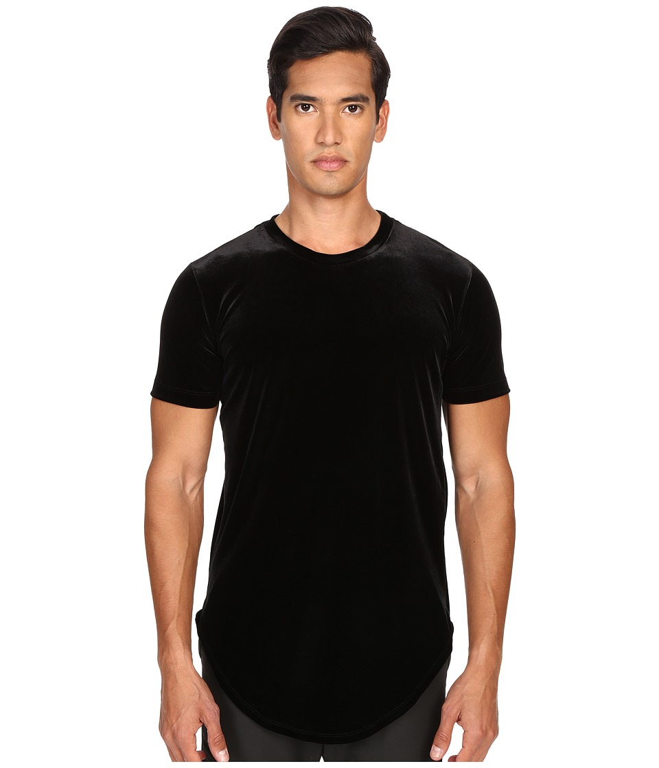 Pyer Moss - Ryan Velour T-Shirt (Black) Men's T Shirt