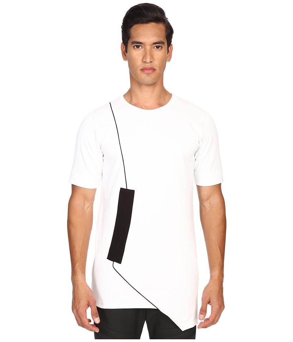 Pyer Moss - Fixed Damage Short Sleeve Tee (White) Men's T Shirt