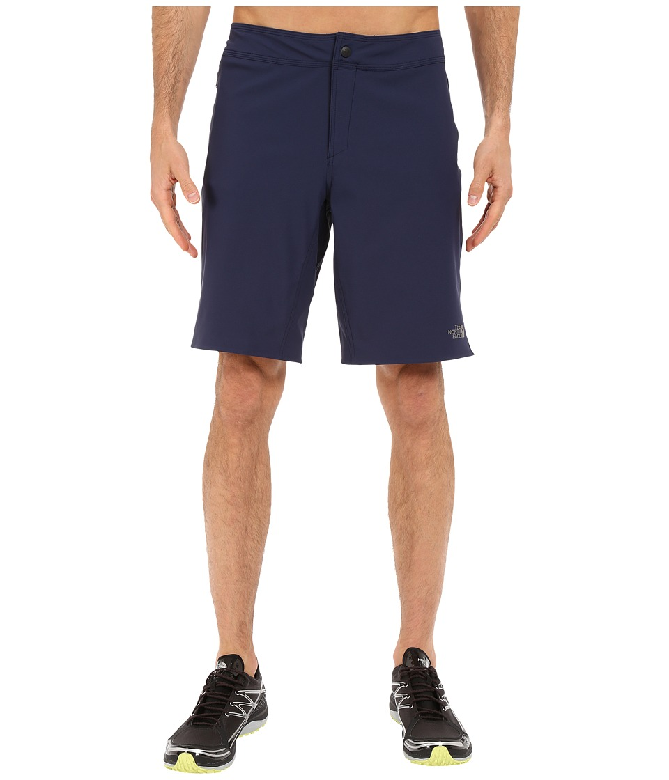 The North Face Kilowatt Shorts (Cosmic Blue/Macaw Green) Men
