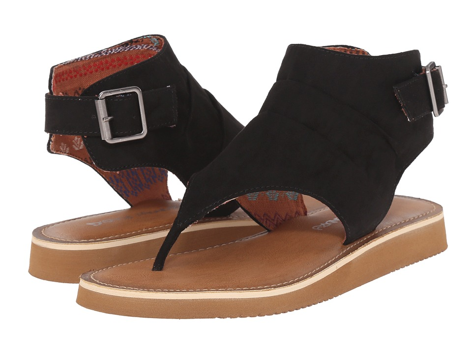 Dirty Laundry - Butternut Micro (Black) Women's Sandals
