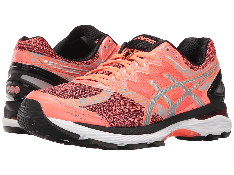 ASICS - GT-2000 4 Lite-Show PG (Flash Coral/Silver/Black) Women's Running Shoes