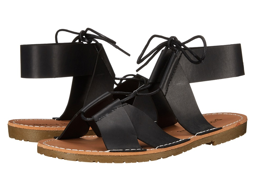 Dirty Laundry - Emphasis Lace Up Sandal (Black) Women's Sandals