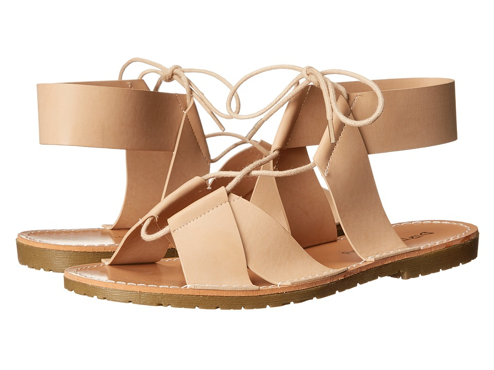 Dirty Laundry - Emphasis Lace Up Sandal (Blush) Women's Sandals