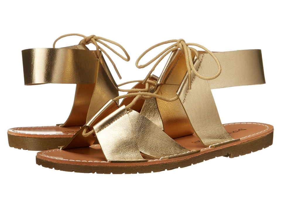 Dirty Laundry Emphasis Lace Up Sandal (Light Gold) Women