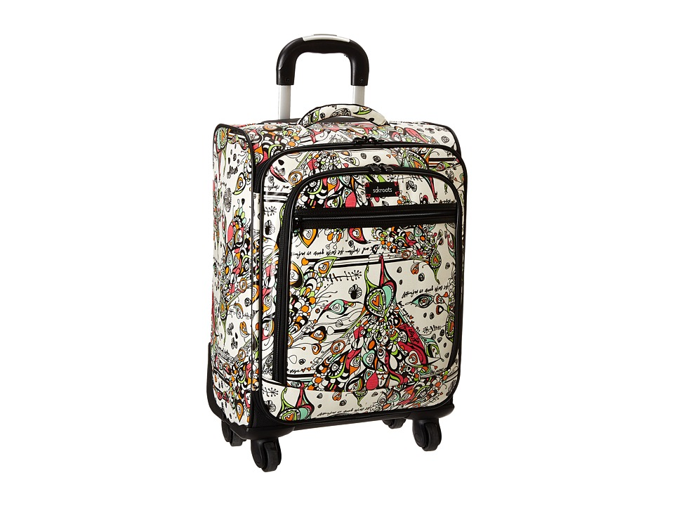 Sakroots - Sak Roots Carry On Suitcase (Optic Songbird) Carry on Luggage