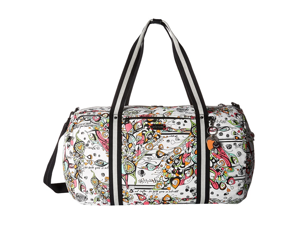 Sakroots - Artist Circle XL Soft Duffel (Optic Songbird) Duffel Bags