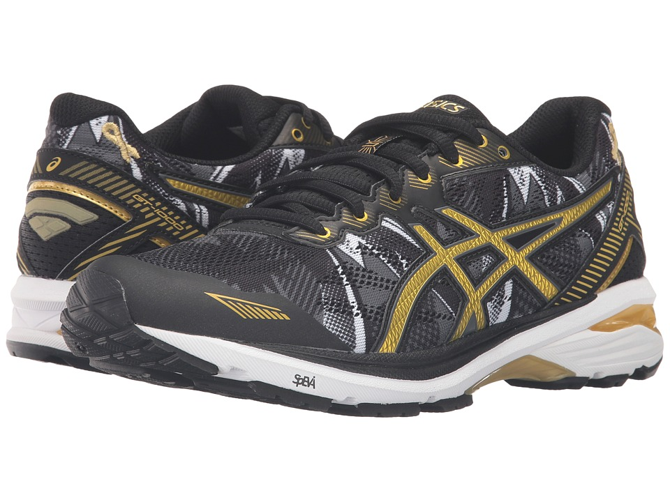 ASICS - GT-1000 5 GR (Black/Rich Gold/Gold Ribbon) Women's Running Shoes