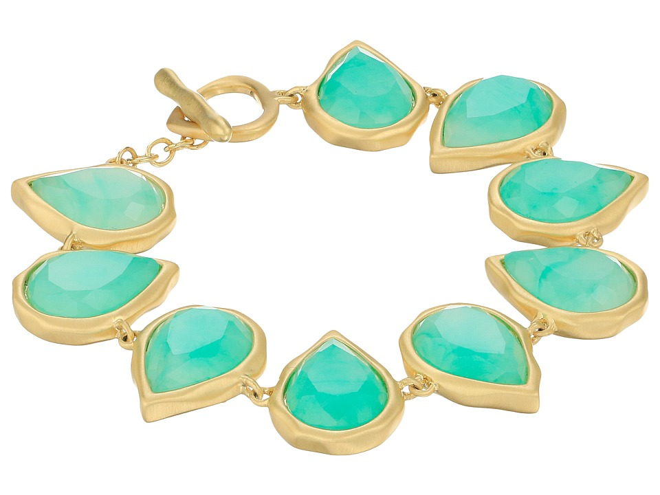 Karen Kane - Sky and Sea Reversible Teardrop Bracelet (Green) Bracelet
